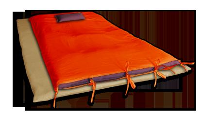 Futon cover tailoring of futon cover soi zen - Housse matelas futon ...